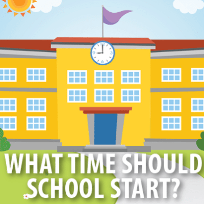 Today Show: Should Schools Start Later? Poor Sleeping Habits Of Teens
