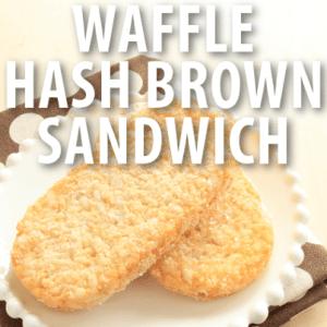Good Morning America: Buzzfeed Breakfast Wafflebrown Sandwich Recipe