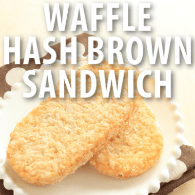 Good Morning America: Buzzfeed Breakfast Wafflebrown Sandwich Recipe