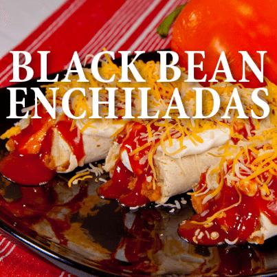 Today Show: Erin Chase Slow Cooker Black Bean Enchiladas Recipe