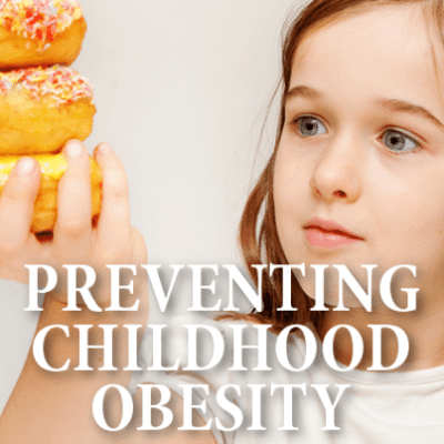Drs: Child Obesity Campaign + Healthy Food Swaps & Fast-Food Danger