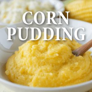 The Chew: Michael Symon Corn Pudding with Collards & Mushrooms Recipe