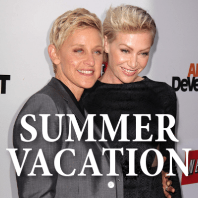Ellen: Season 12 Premiere + France Trip With Portia & Instagram Selfies