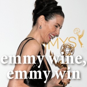 Kelly & Michael: Julianna Margulies Emmy Wine + The Good Wife