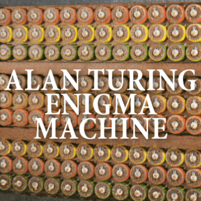 Alan Turing Enigma Machine + Benedict Cumberbatch The Imitation Game