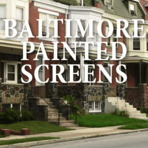 Sunday Morning: Preserving the History of Painted Screens in Baltimore
