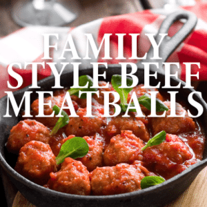 on Today Show with a tested Italian classic recipe for Beef Meatballs ...
