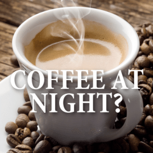 Live!: Drinking Coffee at Night + Helping Kids with Their Homework