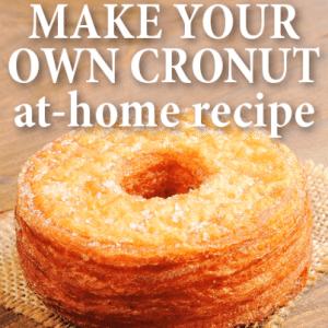 GMA: Dominique Ansel At-Home Cronut Recipe with Vanilla Rose Ganache