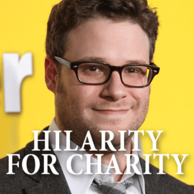 Seth Rogen will be by Ellen's show October 14, 2014, talking about his event for Alzheimer's, Hilarity for Charity. (DFree / Shutterstock.com)