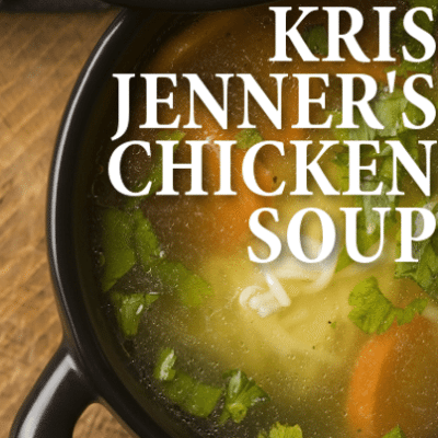 Today Show: In the Kitchen with Kris Jenner Hearty Chicken Soup Recipe