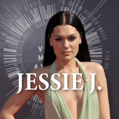 "Ellen sent terrible singer Sandra to the American Music Awards, where she met a number of musicians and even got to sing Jessie J's ""Bang Bang"" alongside Jessie J herself! (Jaguar PS / Shutterstock.com)"