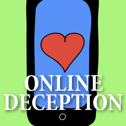 Online dating deception