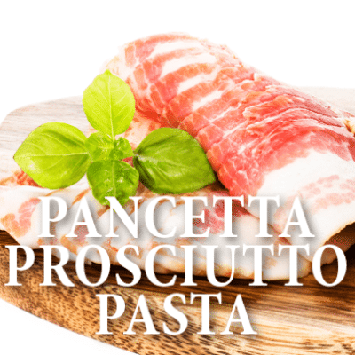 Good Morning America: Stanley Tucci Pancetta Prosciutto Pasta Recipe