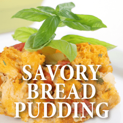 Twin Chefs: Ghoulish Savory Bread Pudding Recipe & Meringue Kisses