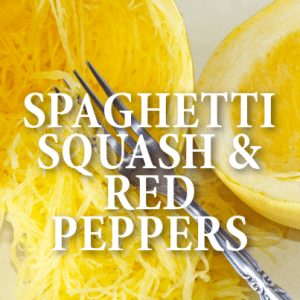The Chew: Clinton's Spaghetti Squash with Roasted Red Peppers Recipe