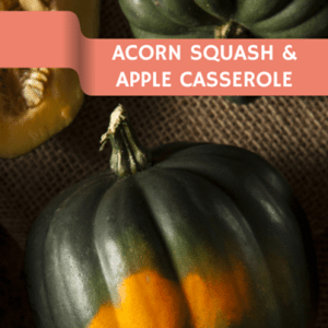 Emeril Lagasse: Braised Apples, Roasted Acorn Squash and Thyme Recipe