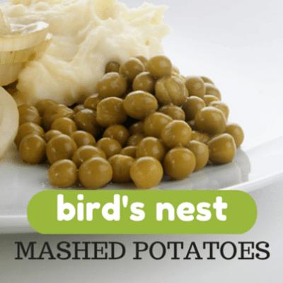 Kelly & Michael: Kelly Ripa Bird's Nest Mashed Potato Recipe