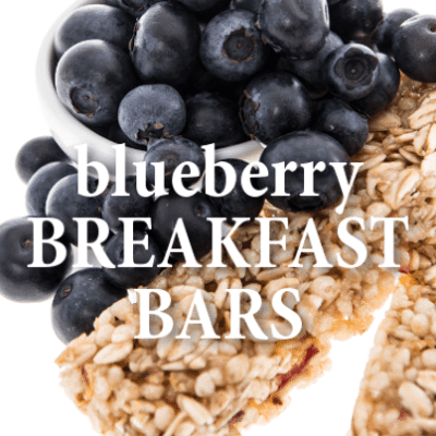 Kathie Lee + Hoda: Parents Magazine Blueberry Breakfast Bars Recipe