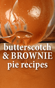GMA: Butterscotch Corn Flakes Pie Recipe + Chocolate Chip Brownie Pie