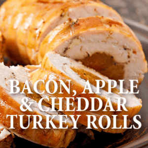 ... Bacon, Apple and Cheddar Turkey Rolls Recipe. (Timolina / Shutterstock