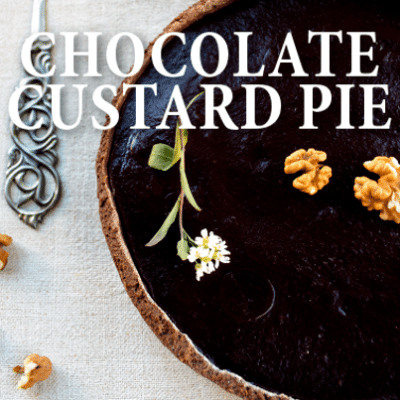 Kathie Lee & Hoda: Good Gifts Chocolate Custard Pie Recipe + Coconut