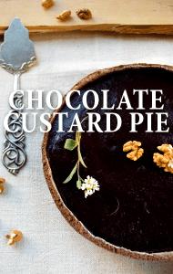 Kathie Lee & Hoda: Good Gifts Chocolate Custard Pie Recipe + Coconut