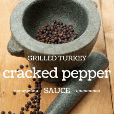 The Talk: Susan Feniger Grilled Turkey with Cracked Pepper Sauce Recipe