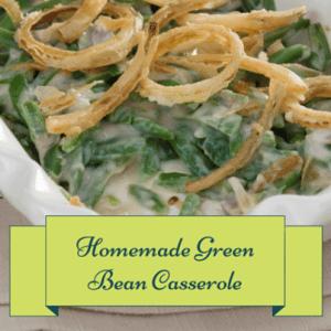 GMA: Emeril Lagasse Made-from-Scratch Green Bean Casserole Recipe