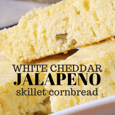 The Talk: Ryan Scott Jalapeno & White Cheddar Skillet Cornbread Recipe