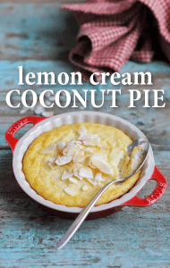 Good Morning America: Lara Spencer Lemon Cream Coconut Pie Recipe