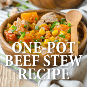Rachael Ray: Fall Vegetable Beef One-Pot Recipe with Butternut Squash