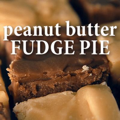GMA: Ginger Zee Peanut Butter Fudge Pretzel Crust Pie Recipe