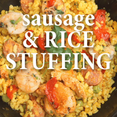 Fresco by Scotto: Roast Turkey with Sausage and Rice Stuffing Recipe