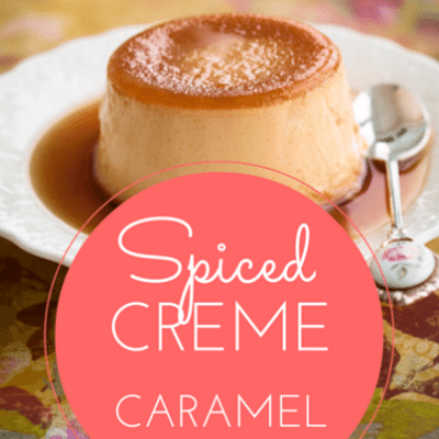 The Talk: Spiced Creme Caramel Recipe + Caramelized Brussels Sprouts