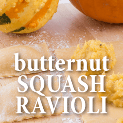 The Talk: Paul Bartolotta Brown Butter Butternut Squash Ravioli Recipe