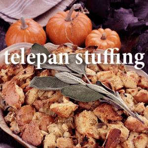 Kelly & Michael: Telepan Thanksgiving Sausage Stuffing Recipe
