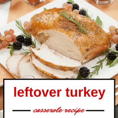 GMA: Emeril Lagasse Cheesy Turkey & Wild Rice Casserole Recipe