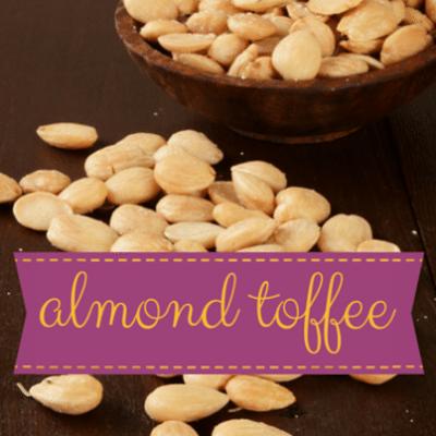 Gesine Bullock-Prado Marcona Almond Toffee Recipe + Pistachio Pralines