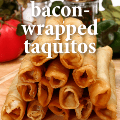 The Talk: Duff Goldman Bacon-Wrapped Cheeseburger Taquitos Recipe