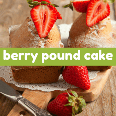 The Talk: Fresh Berry Pound Cake & Fava Bean Mint Hummus Recipe