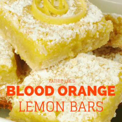 Kathie Lee & Hoda: Good Gifts Blood Orange Lemon Bars Recipe
