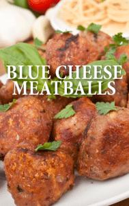 Rachael blue cheese horseradish beef meatballs recipe for Blue cheese burger recipe rachael ray