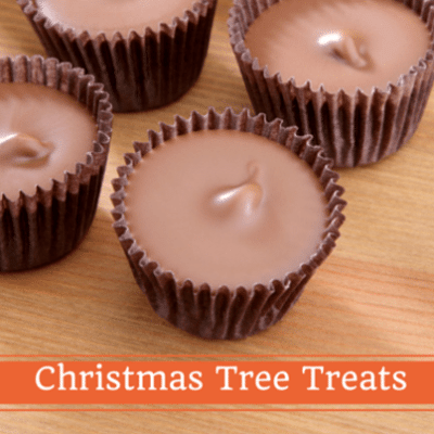 Family Circle: Peanut Butter Cup Trees Recipe & Reindeer Doughnuts