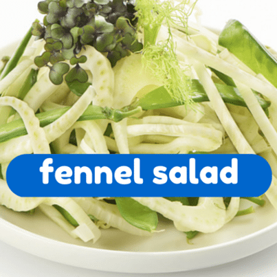 The Talk: April Bloomfield Roasted and Raw Fennel Salad Recipe