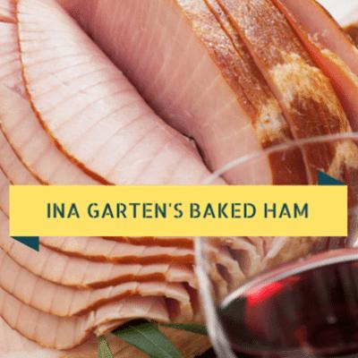 Barefoot Contessa: Baked Virginia Ham Recipe & Winter Slaw Recipe