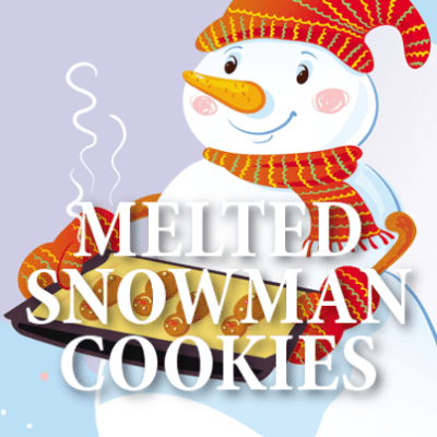 Today: Melted Snowman Cookies Recipe & Sandwich Cookie Snowglobes