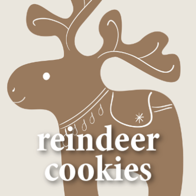 Parents: Peanut Butter Reindeer Cookies Recipe + Marshmallow Dreidels