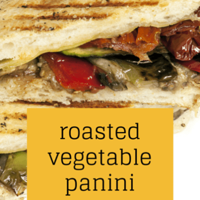 The Talk Food: Fabio Viviani Roasted Vegetable Panini Recipe