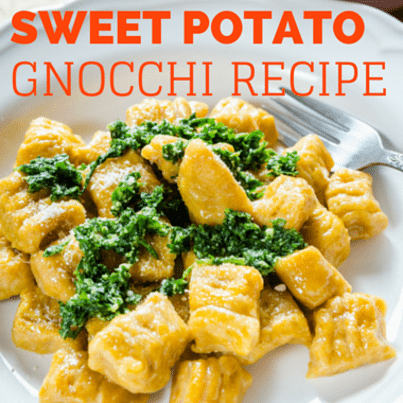 The Chew: Sweet Potato Gnocchi with Brussels Sprouts and Brown Butter